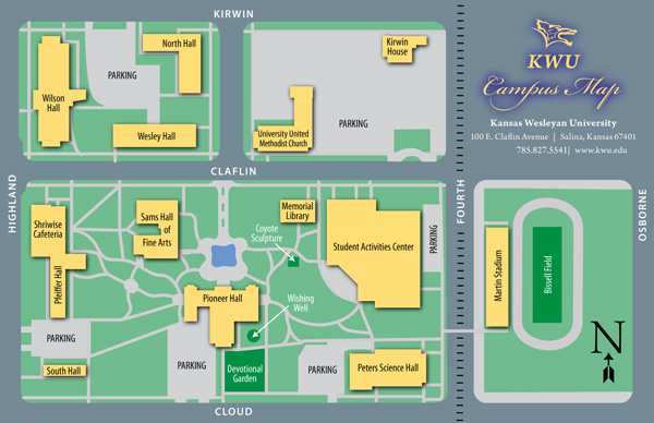 Kansas Wesleyan University Driving Directions