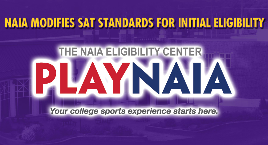 Photo for NAIA modifies SAT standards for initial eligibility