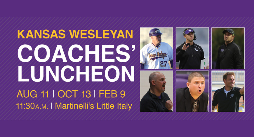 Photo for Third year of Coaches� Luncheon Series kicks off August 11