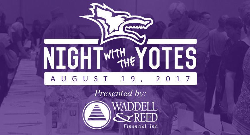 Photo for Join KWU Athletics for the Seventh Annual Night with the Yotes August 19