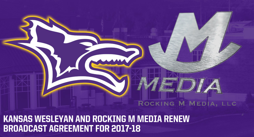 Photo for Kansas Wesleyan renews broadcast agreement with Rocking M Media for 2017-18