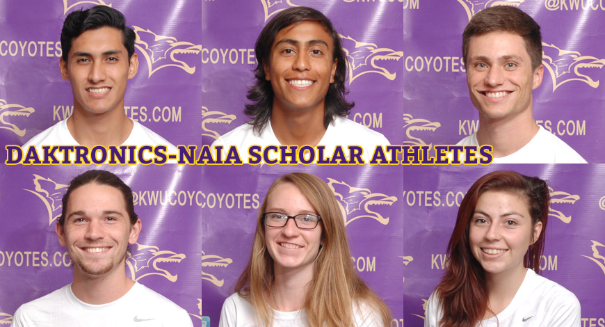 Photo for Cross Country has six earn Daktronics-NAIA Scholar Athlete honors