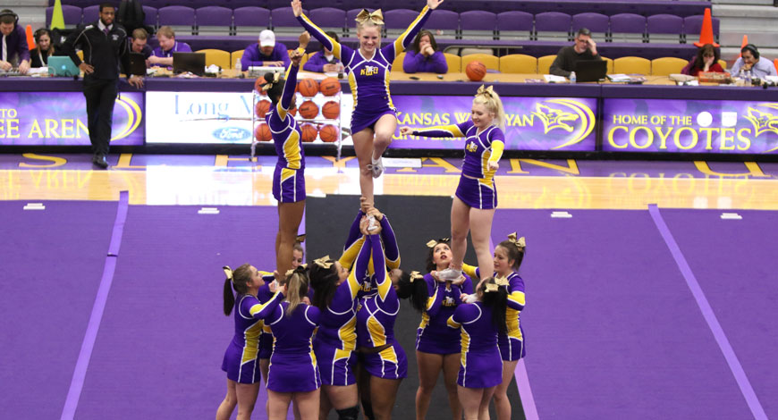 Photo for Competitive Cheer finishes 12th at NAIA Invitational