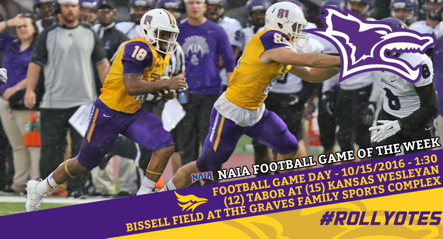 Photo for No. 15 Kansas Wesleyan hosts No. 12 Tabor on Saturday in NAIA Game of the Week