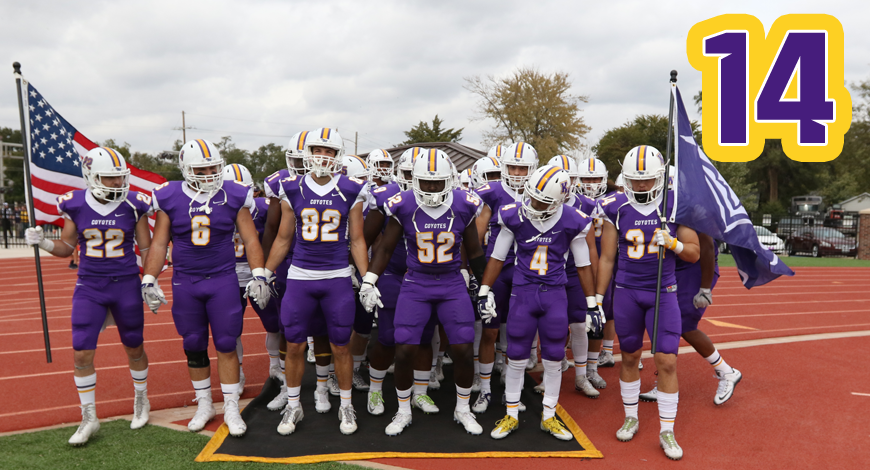 Photo for Football up one spot to No. 14 in NAIA Top 25 poll