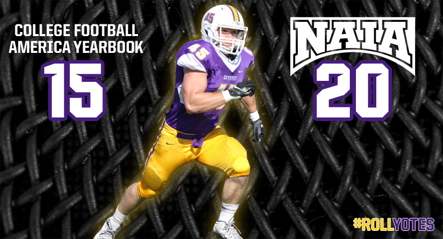 Photo for Football receives pair of preseason national rankings