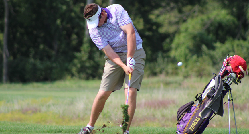 Photo for Men�s Golf ties for fifth at Kansas Prairie Invitational