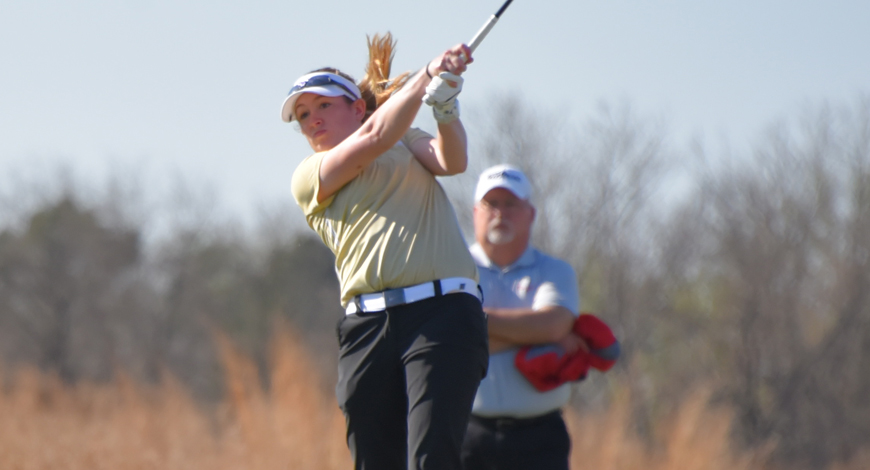 Photo for Women's Golf finishes second at first leg of KCAC Championship