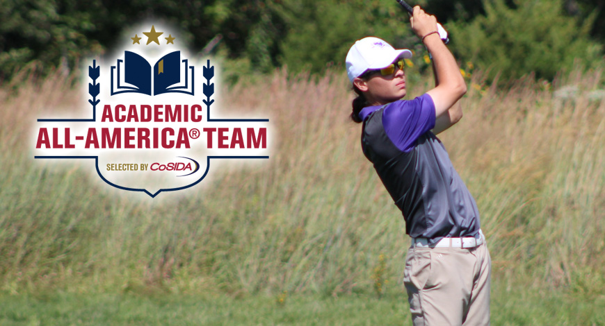 Photo for Mahan selected to CoSIDA Academic All-America At-Large First Team