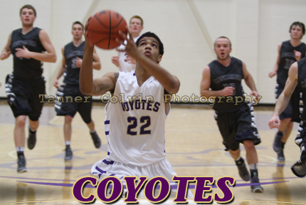 Dominique Johnson had 19 points to lead the Coyotes on Friday night