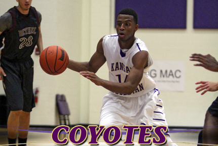 Keion Criswell had nine points for the Coyotes on Wednesday in the Cruizin' Classic