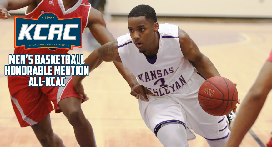 Photo for Hill named to Men's Basketball Honorable Mention All-KCAC team