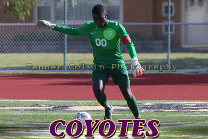 Blessing Ngwa picked up his fifth shutout of the season on Wednesday against Bethel