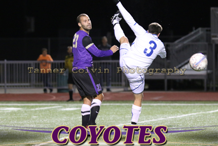 Santiago Yasky had two goals for the Coyotes on Friday at Sterling