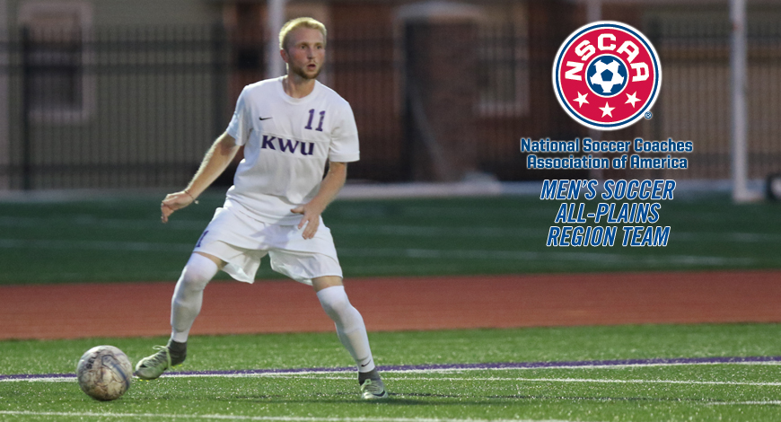 Photo for Jesse Lennon earns Honorable Mention NSCAA All-Plains Region honor