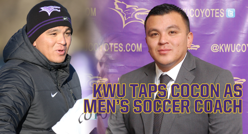 Photo for Kansas Wesleyan taps Diego Cocon as Men's Soccer coach