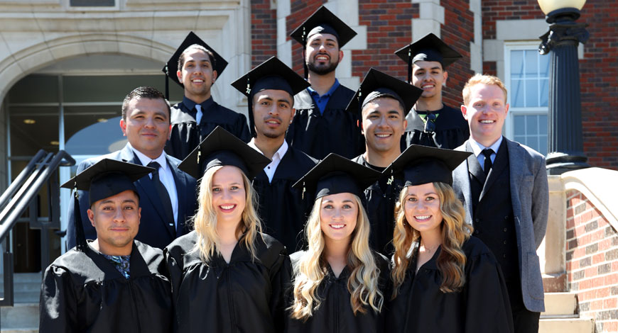 Photo for Student-athletes honored during Graduation Weekend activities