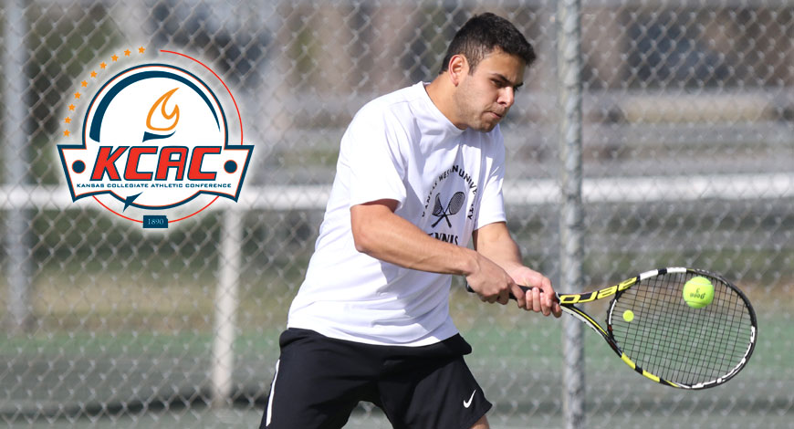 Photo for Rincon named to Men's Tennis All-KCAC Second Team