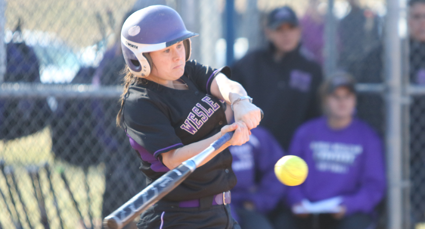 Photo for Softball opens four-game series with SAGU with doubleheader sweep