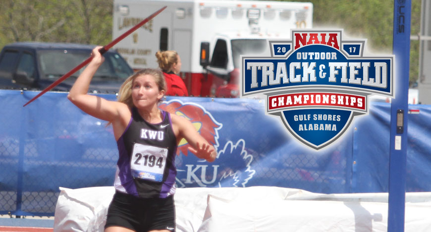 Photo for Gardiner finishes in Top 20 in Javelin Throw at NAIA National Championships