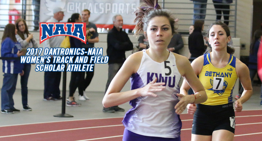 Photo for Women's Track has one Daktronics-NAIA Scholar Athlete