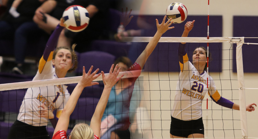Photo for Volleyball lands two on AVCA All-Region Team