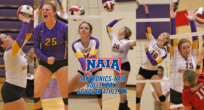 Photo for Volleyball has six earn Daktronics-NAIA Volleyball Scholar Athlete honors