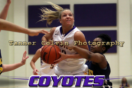 Alecia Smith scored 22 points as the Coyotes routed Saint Mary 72-50 on Saturday afternoon at Mabee Arena