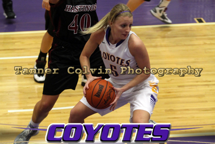 Stephanie Frost had 15 points and seven rebounds in KWU's 70-57 over Hastings. Frost needs 30 rebounds to become KWU's all-ti