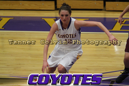Christian Cassity had a double-double for the Coyotes as they routed Bethel on Saturday night
