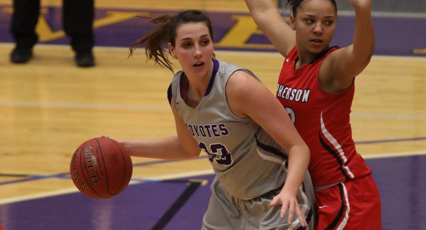 Photo for Women's Basketball routs McPherson 64-33 to even conference record