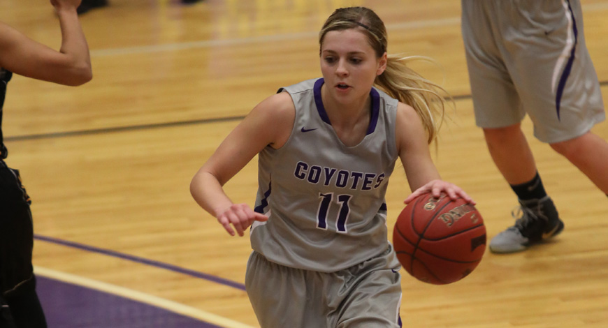 Photo for Steinle's career night fuels Women's Basketball rout of Ottawa