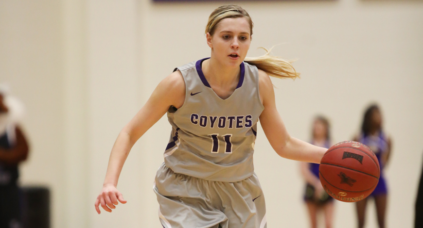 Photo for Huge second half propels Women's Basketball past Ottawa 68-61 and into KCAC Semifinals