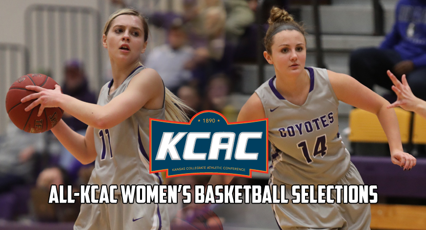 Photo for Steinle and Farris selected to Women's Basketball All-KCAC team