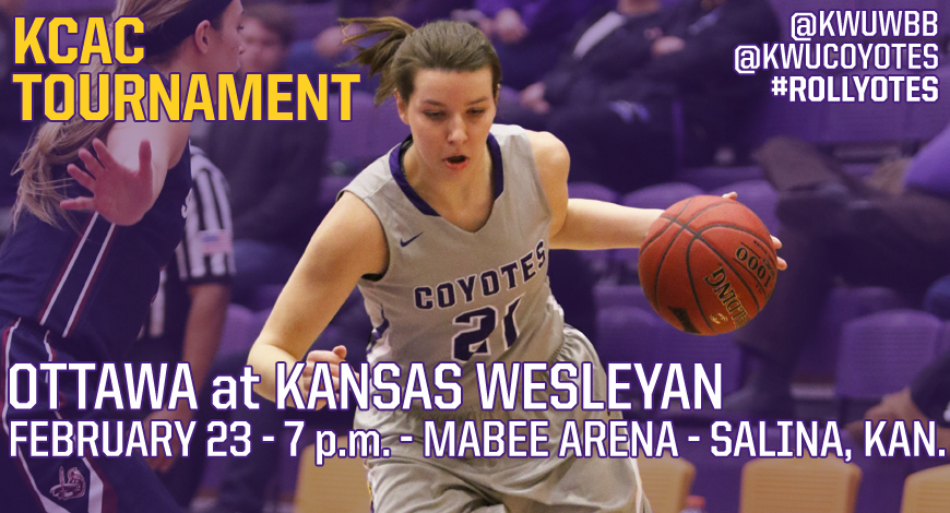 Photo for Women's Basketball hosts Ottawa on Thursday in KCAC Quarterfinals