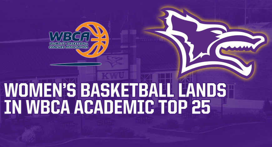 Photo for Women's Basketball earns spot on WBCA Academic Top 25 for third straight year