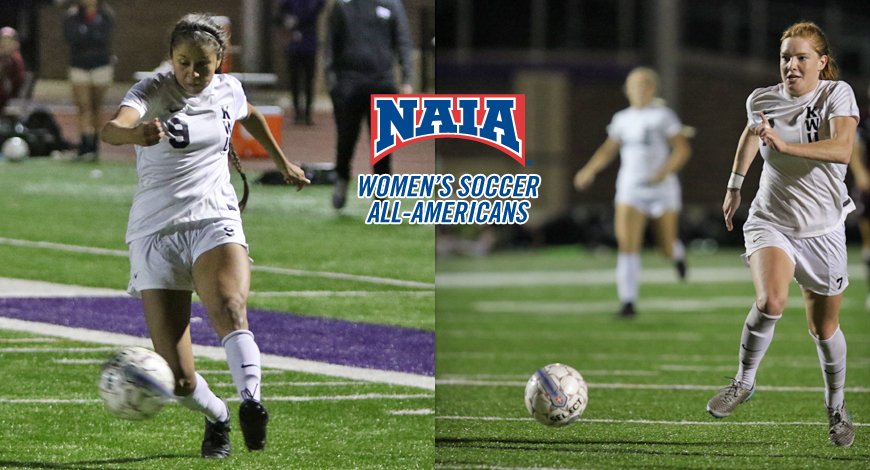 Photo for Chavez and Rogers earn NAIA Women's Soccer Honorable Mention All-America honors