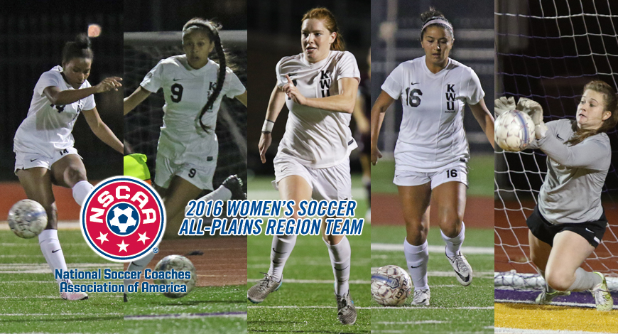 Photo for Five Women's Soccer players earn NSCAA All-Plains Region honors