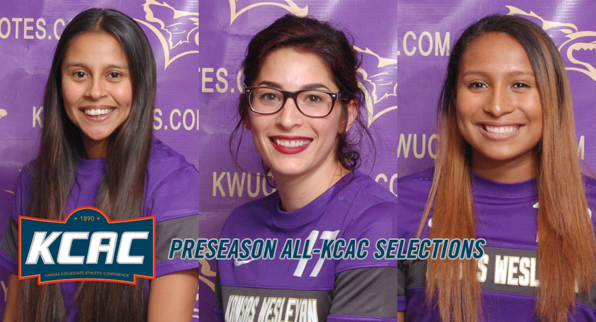 Photo for Women�s Soccer places three on Preseason All-KCAC team