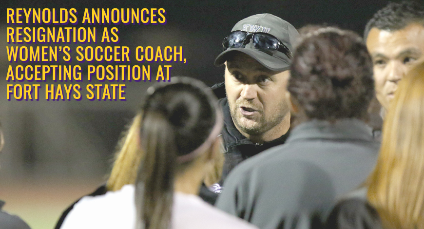 Photo for Blake Reynolds announces resignation as Women's Soccer coach