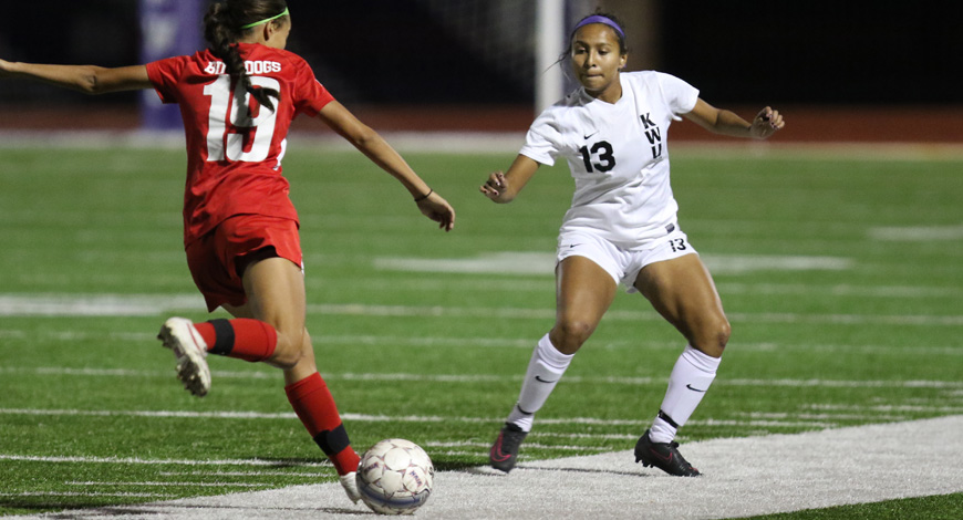 Photo for Women's Soccer stumbles against The Master's in California finale